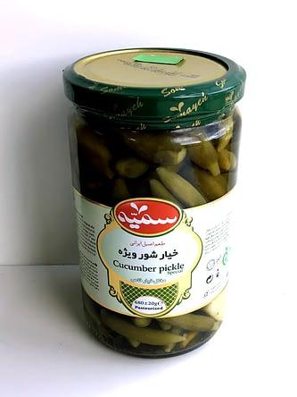 Pickled Cucumber 680g – Somayeh