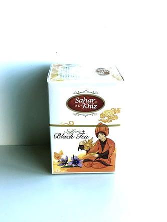 Tea Bag ( Saffron + Black Tea ) – 20 – Saharkhiz