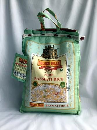 Basmati Rice Golden Qilla