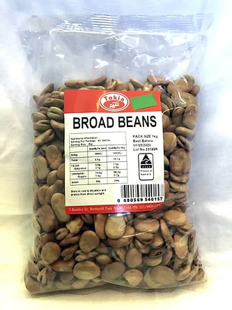 Broad Beans from Takin