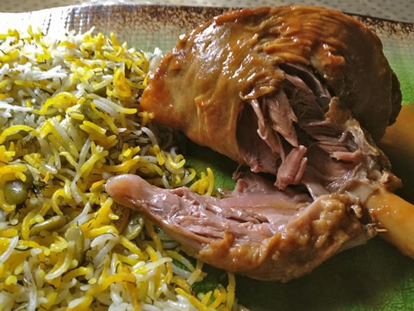 5 Great Persian Dishes - Baghali Polo