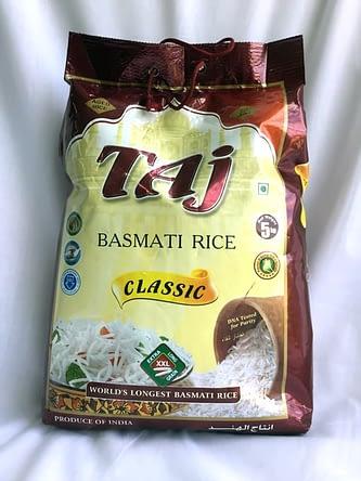 Taj Basmati Rice 5kg