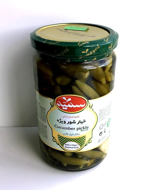 Pickled Cucumbers fro Somayeh