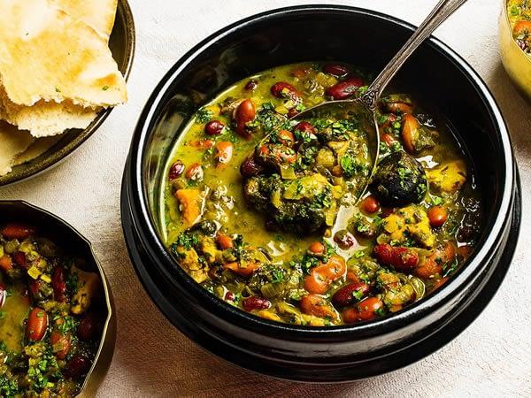 5 Great Persian Dishes - Ghormeh Sabzi